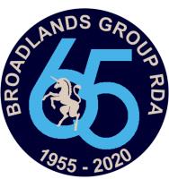 Broadlands 65th Logo