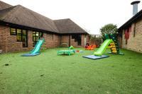 All weather astro turf garden