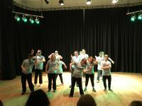Blue Apple Street Dance performance