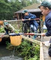 Accessible activities - including pond and river dipping
