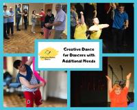 Collective Motion Dance classes for dancers with additional needs/ disabilities.