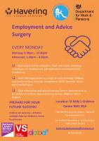 Employment and Advice Surgery