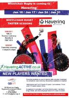 Wheelchair Rugby Flyer