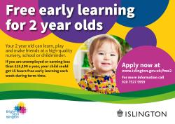 2 year old free early learning
