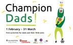 Champion Dads flyer