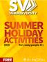 Summerversity, summer holiday activities in 2019