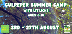 Culpeper Summer Camp Poster