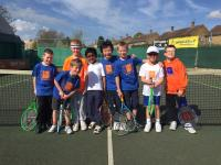 Some of our youngsters enjoying their tennis at The Centre