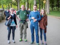 Adults walking
