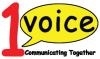 1 voice logo