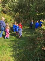 Forest schools fun!