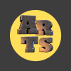Ashford Arts Centre logo designed to demonstrate the strength required to be a working artist.
