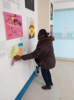 A sensory art exhibition entitled 'Labelled', held in April 2018