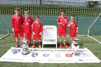 Gravesham Borough Youth Disability Team winning the Kent Disability Cup