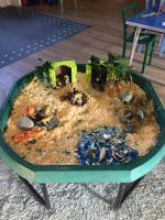 One of our tuff tray lands