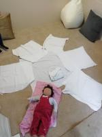 Our Baby Massage room in Ashford