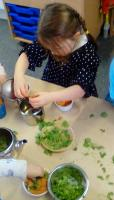 Using natural resources within play