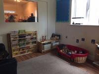 Cosy book area
