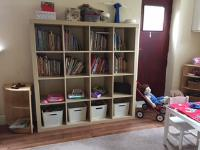 Self selection for books and home corner resources