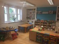 Nursery interior room