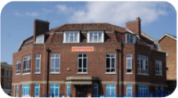 A photo of the building of Six Bells Children's Centre
