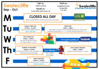 Swalecliffe Timetable Sep - Oct 2019