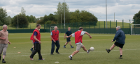 walking football for over 50's