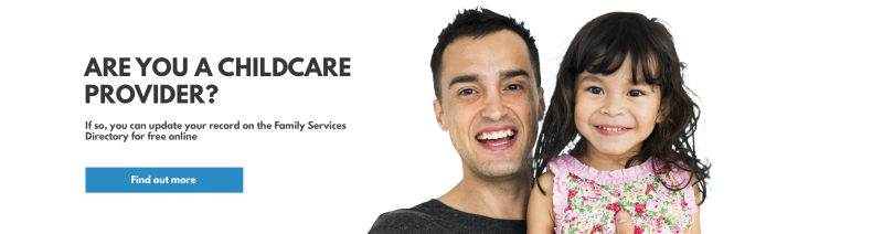 Are you a childcare provider?