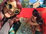 a visit to the steam punk fesival