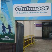 Photgraph of the entrance to Clubmoor Children's Centre.