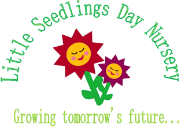 Little Seedlings Logo; Growing Tomorrow's Future