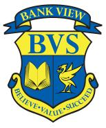 Bank View crest