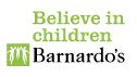 Barnardo's Logo.  Believe in children