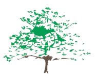 School Logo, a green tree