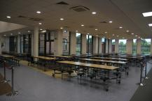 The whole school canteen, located on the ground floor.