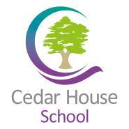 Cedar House School, Lancashire - School logo.