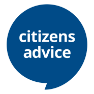 Logo of Citizens Advice - a local and national information and advice agency