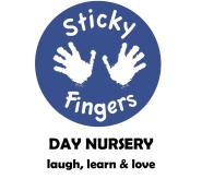 Sticky Fingers Day Nursery Logo