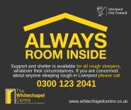 Always Room Inside logo - a yellow roof over the text