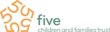 Five Children and Families Logo