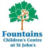 Fountains logo - tree