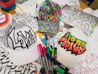 graffiti caps