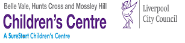 Hunts Cross, Belle Vale, Mossley Hill Childrens Centre Logo