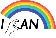 I can logo with rainbow