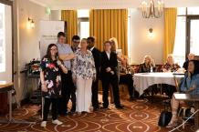 Melissa, a supported intern from Greenbank College based at Marriott Hotel, describing her experience.