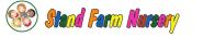 stand farm nursery logo - colourful text