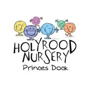 Children's day nursery. 'Holyrood Nursery Princes Dock' -  Nursery logo