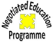 Negotiated Education Programme logo