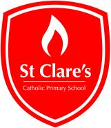 St Clares school badge