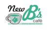 New B's cafe logo
